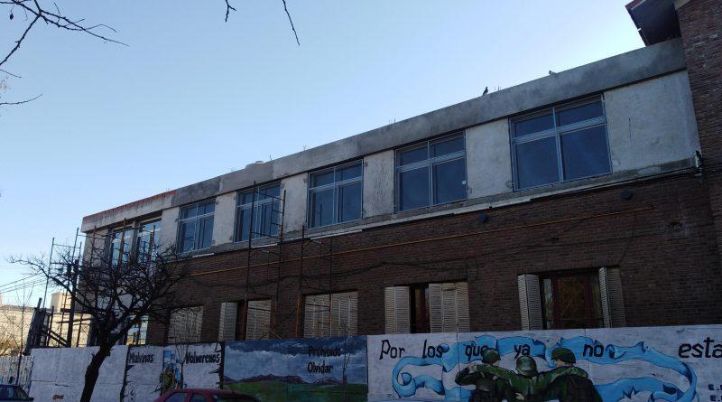 Obra Colegio Nacional / Sin respeto por el patrimonio